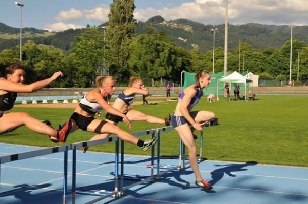 Elodie - Thoune 100m h. limite CEu23 24.06.15